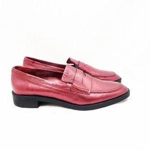 Zara  Metallic Loafer | Size: 40 (US: 9)